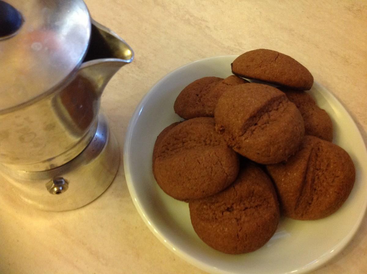Biscotti al Caffè, i miei Chicchi Servili con il caffè!