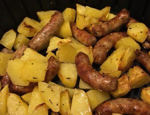 Salsiccia con Patate Fresche