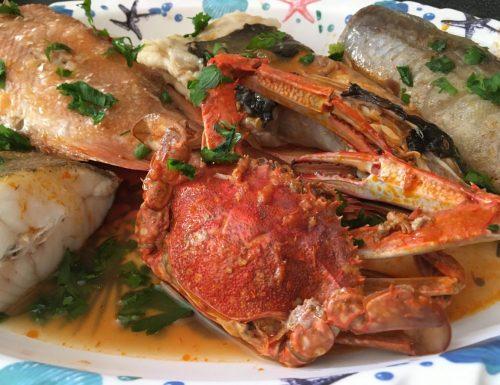 Zuppa di pesce alla Trapanese