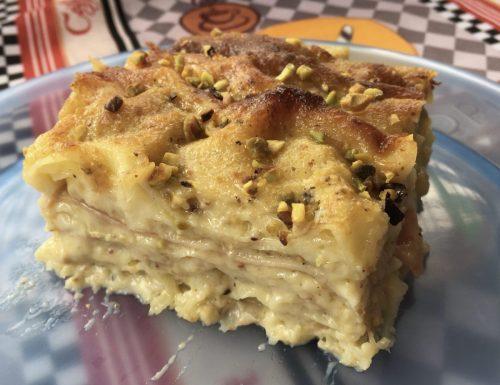 Lasagna al Pistacchio e Mortadella