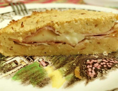 Torta di Pane Raffermo Salata