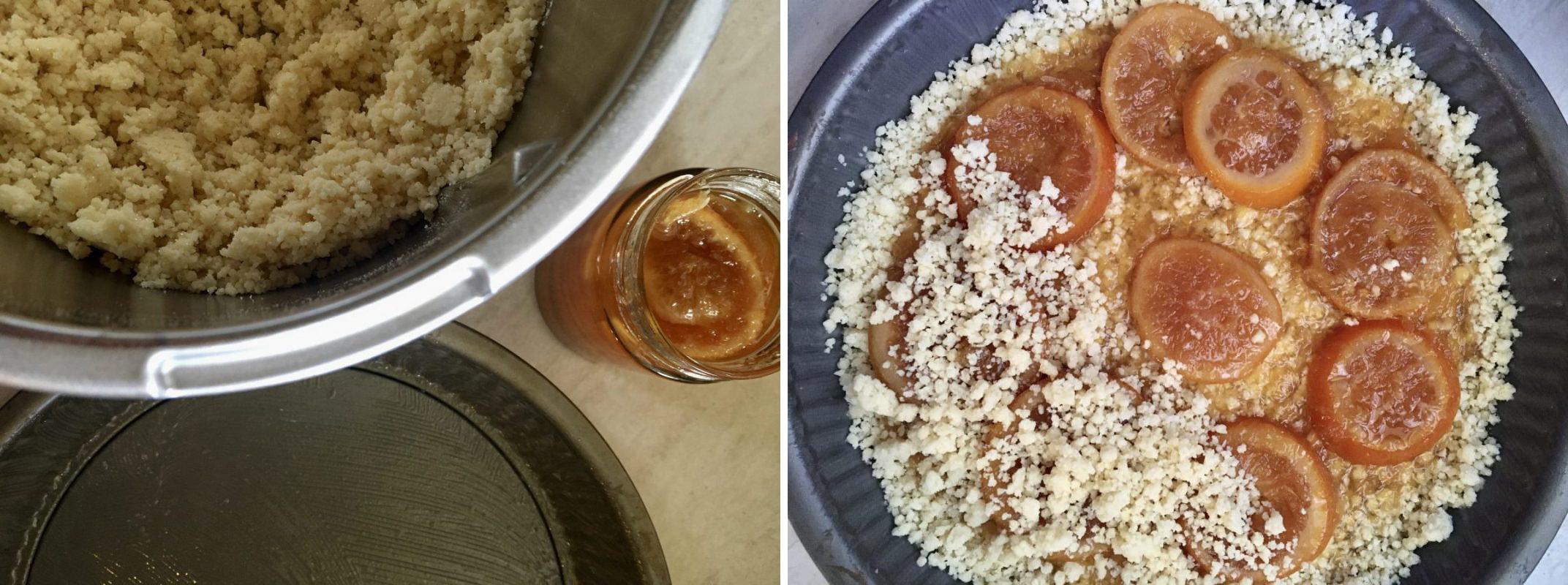 Torta Sbrisolona con Marmellata di Arance a Fette