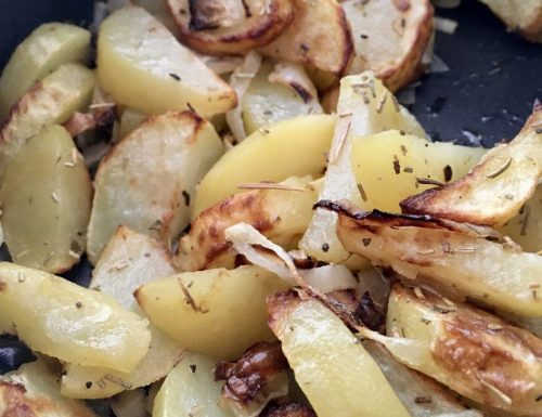 Patate e Cipolle come fritte!