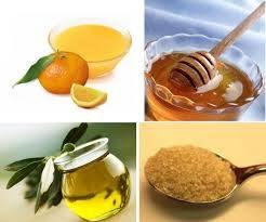 Scrub mani al mandarino miele zucchero di canna olio di oliva