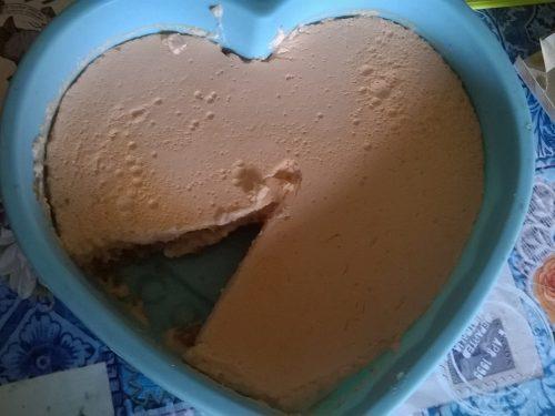 cheesecake alla carota dukan