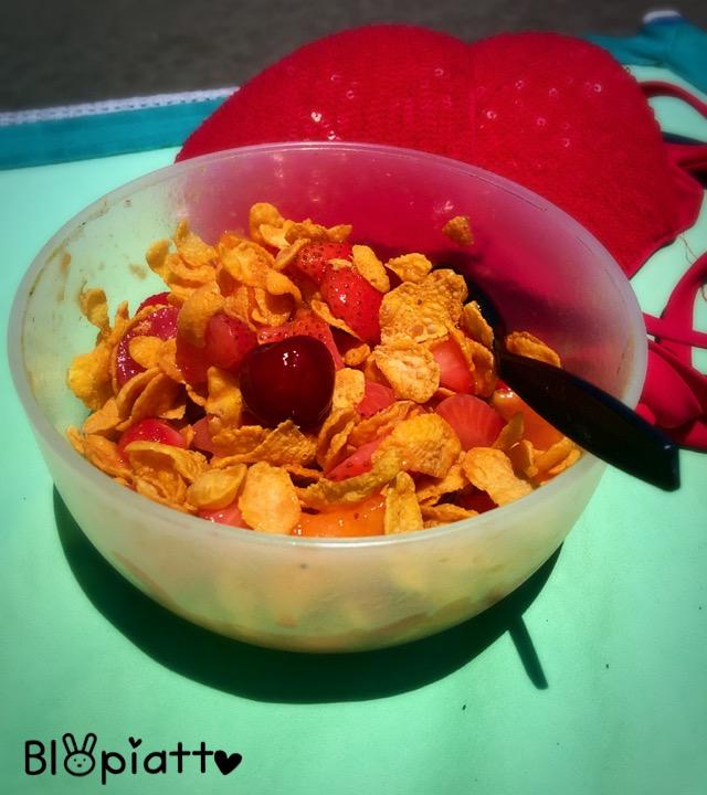 Macedonia miele e cereali