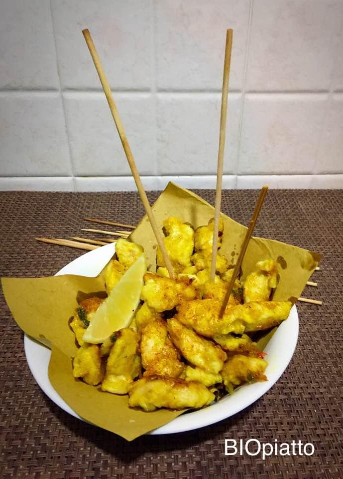 Bocconcini di tacchino al bergamotto con curry paprika e cannella