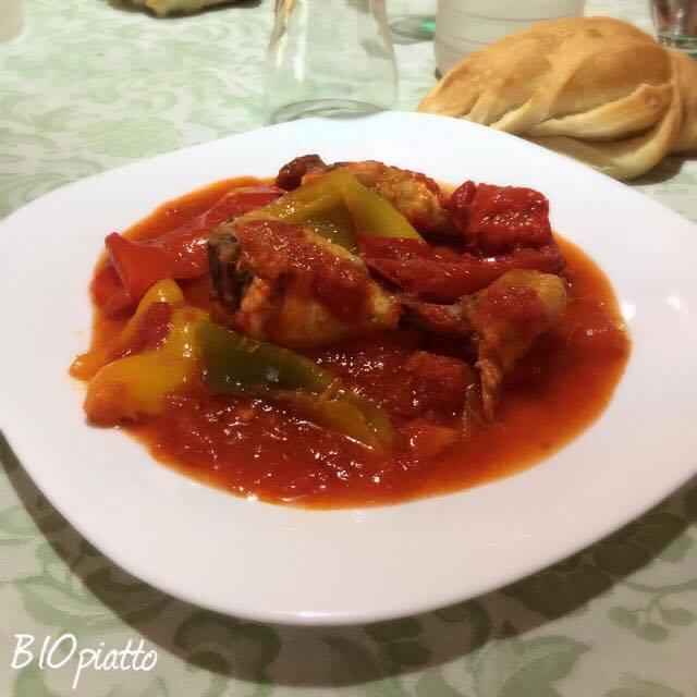 Pollo con peperoni e curcuma un piatto tipico romano for Piatto tipico romano