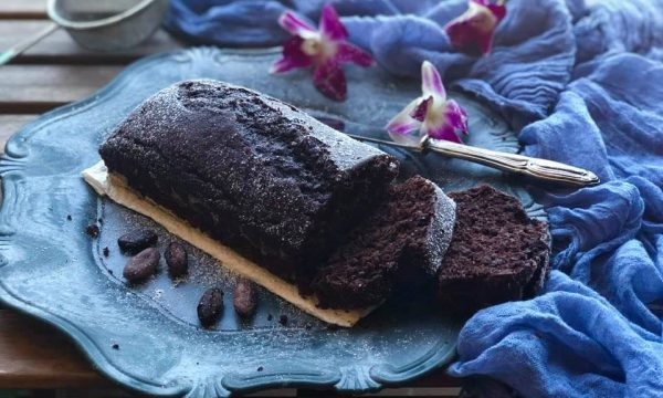 Tronchetto all'acqua cacao e peperoncino