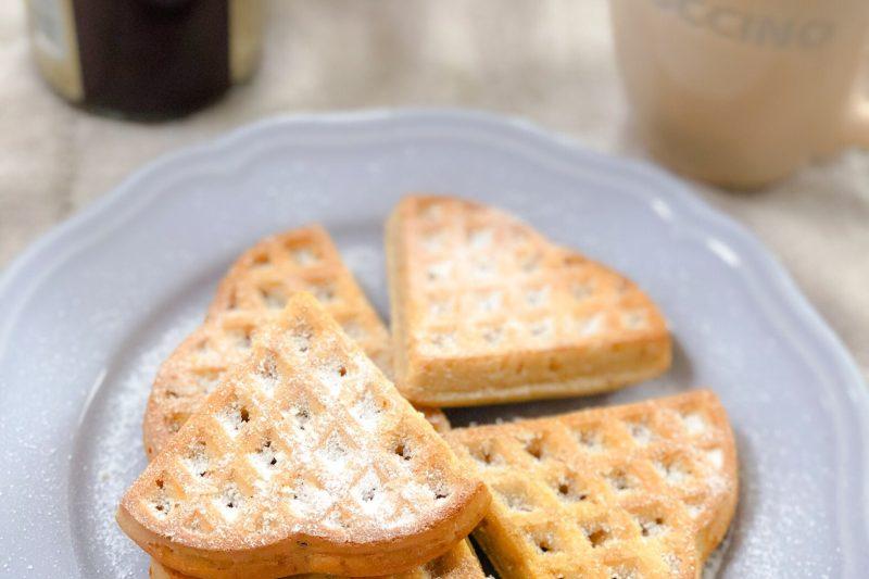 Waffles leggerissimi e senza burro (ricetta con e senza burro)