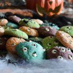 Biscotti mille occhi - ricetta di Halloween