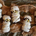 Mummie dolci - ricetta di Halloween