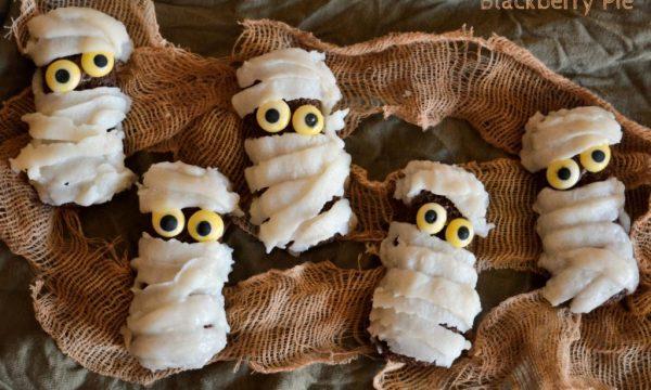Mummie dolci – ricetta di Halloween