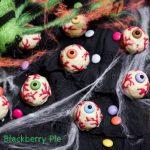 Occhi insanguinati - ricetta di Halloween