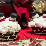 Cupcakes natalizi<br>Ops! Babbo Natale è rimasto incastrato!
