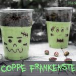 Coppe Frankenstein - ricetta di Halloween