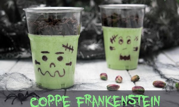 Coppe Frankenstein – ricetta di Halloween
