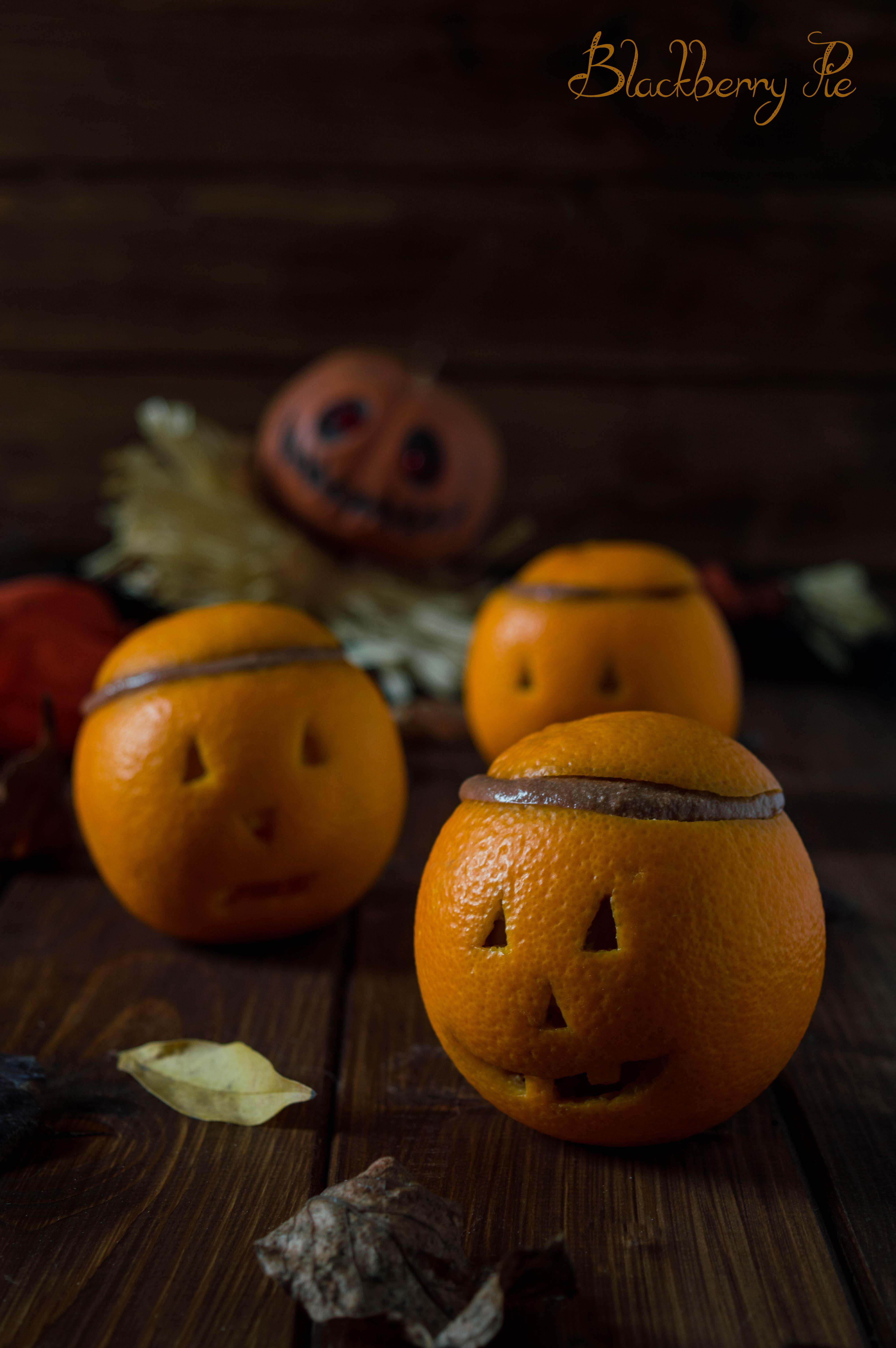 Finte zucche di arancia e cioccolato - ricetta di Halloween ... 5aff6bc14604