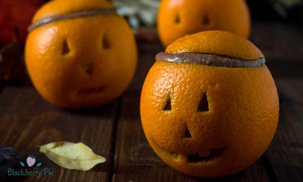 Finte zucche di arancia e cioccolato – ricetta di Halloween