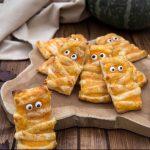 Mummie di sfoglia alla zucca - ricetta di Halloween