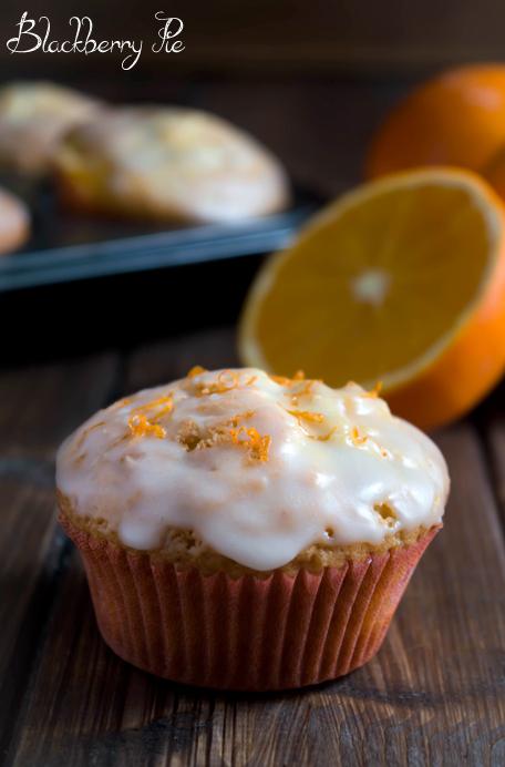 muffin all'arancia
