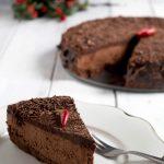 Cheesecake al cioccolato fondente e peperoncino