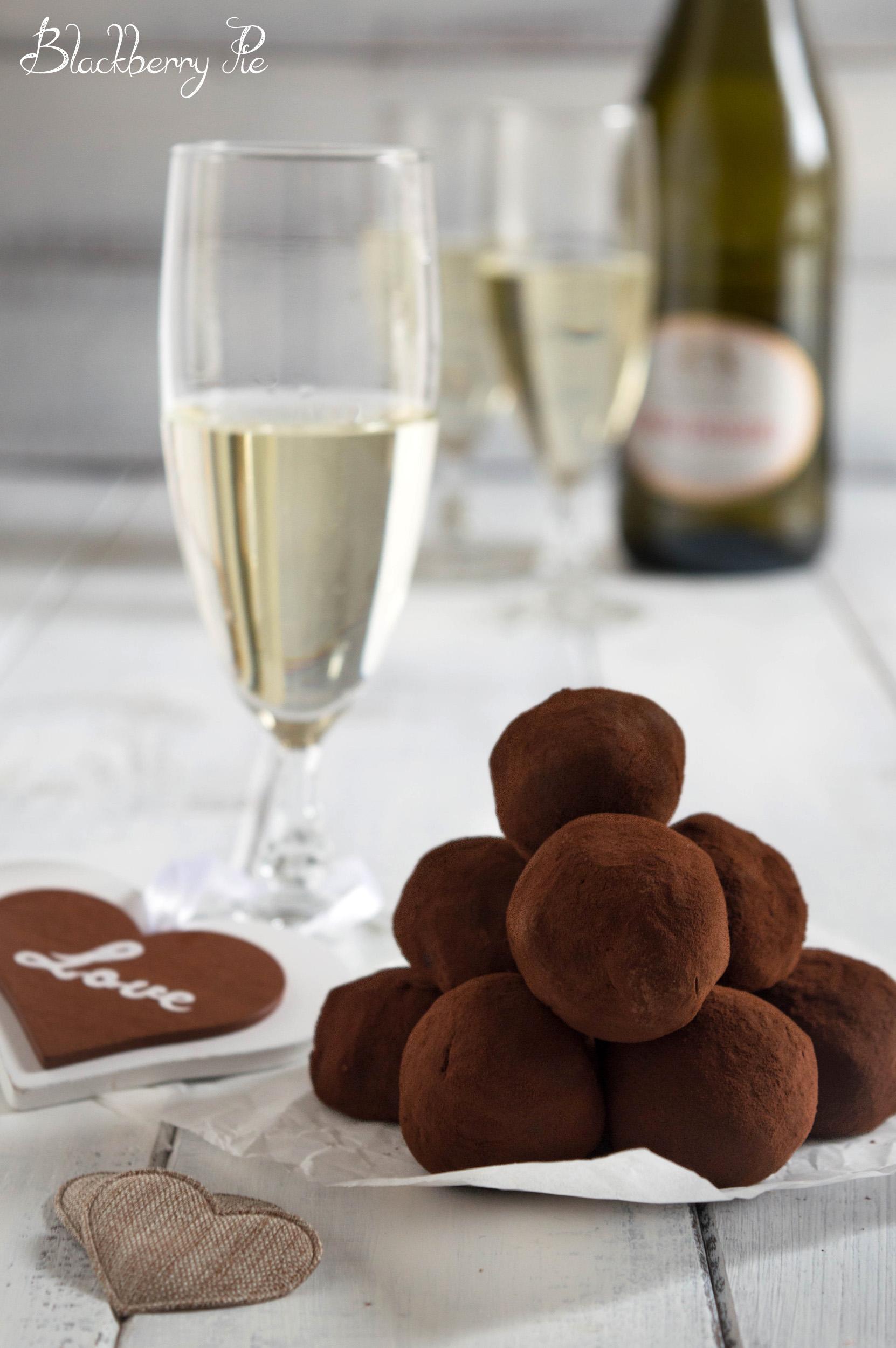 tartufini allo champagne