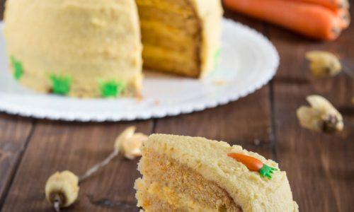 Carrot Cake – torta farcita con crema di carote