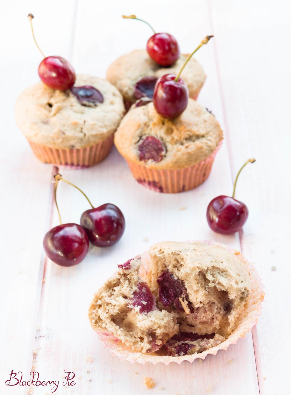 muffin alle ciliegie