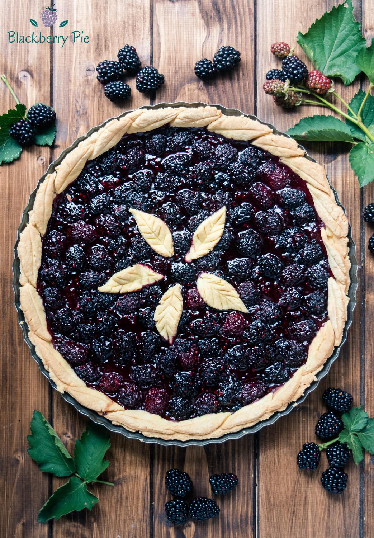 blackberry pie crostata americana alle more