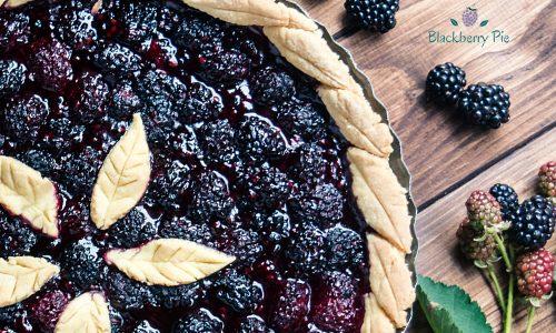 Blackberry Pie – tipica crostata americana alle more