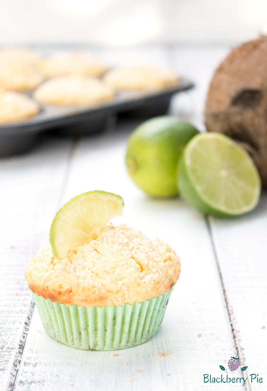 muffin al cocco e lime