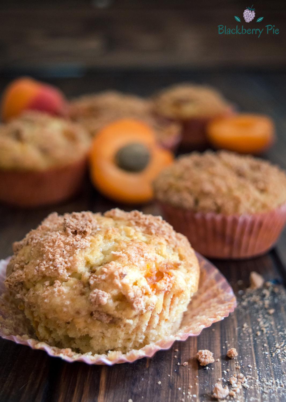 muffin alle albicocche e amaretti