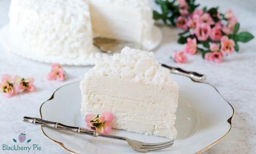 Torta meringata aromatizzata al Marsala – ricetta classica