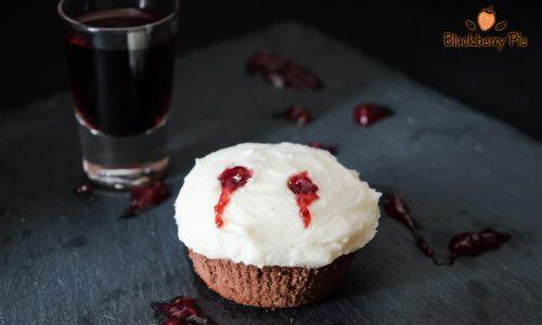 Cupcakes Morso del Vampiro – ricetta di Halloween