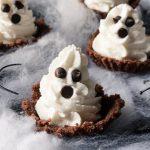 Fantasmini cheesecake - ricetta di Halloween