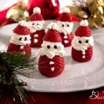 Babbi Natale panna e fragola