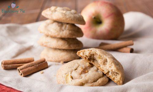 Biscotti morbidi alle mele e cannella