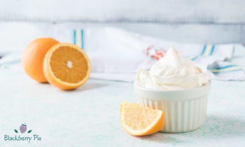 Crema Chantilly all'arancia