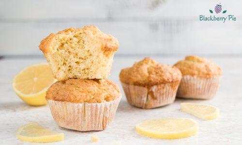 Muffin al limone con farina di farro