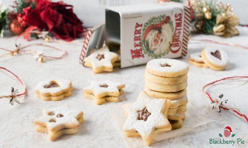 Biscotti Linzer alla Nutella