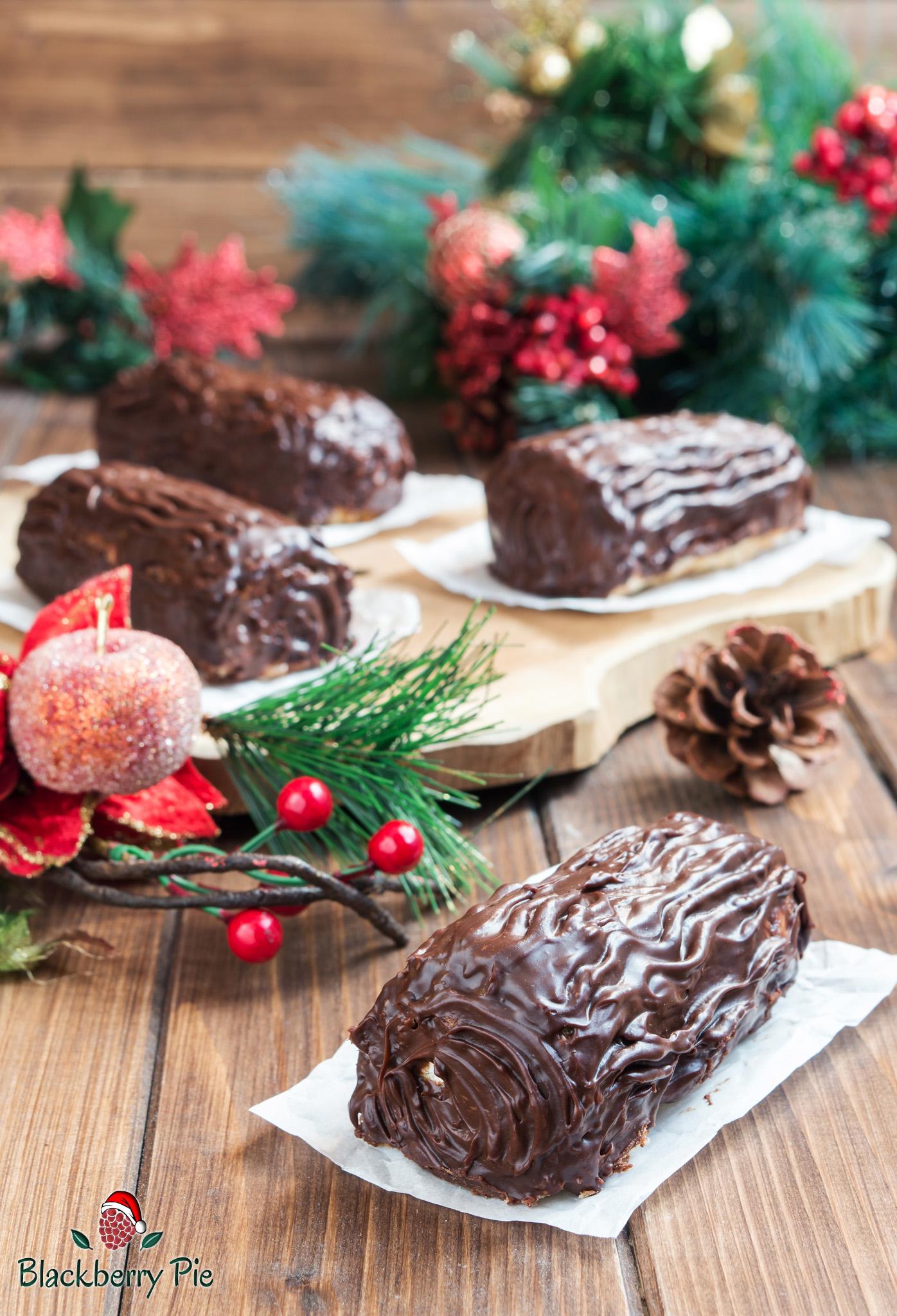 Tronchetto Di Natale Con Pandoro.Mini Tronchetti Di Natale Con Pandoro E Ricotta