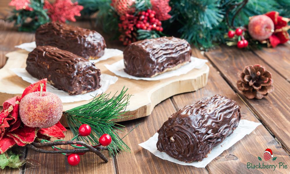 Tronchetto Di Natale Alla Ricotta.Mini Tronchetti Di Natale Con Pandoro E Ricotta