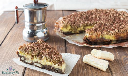 Torta sbriciolata al Tiramisù