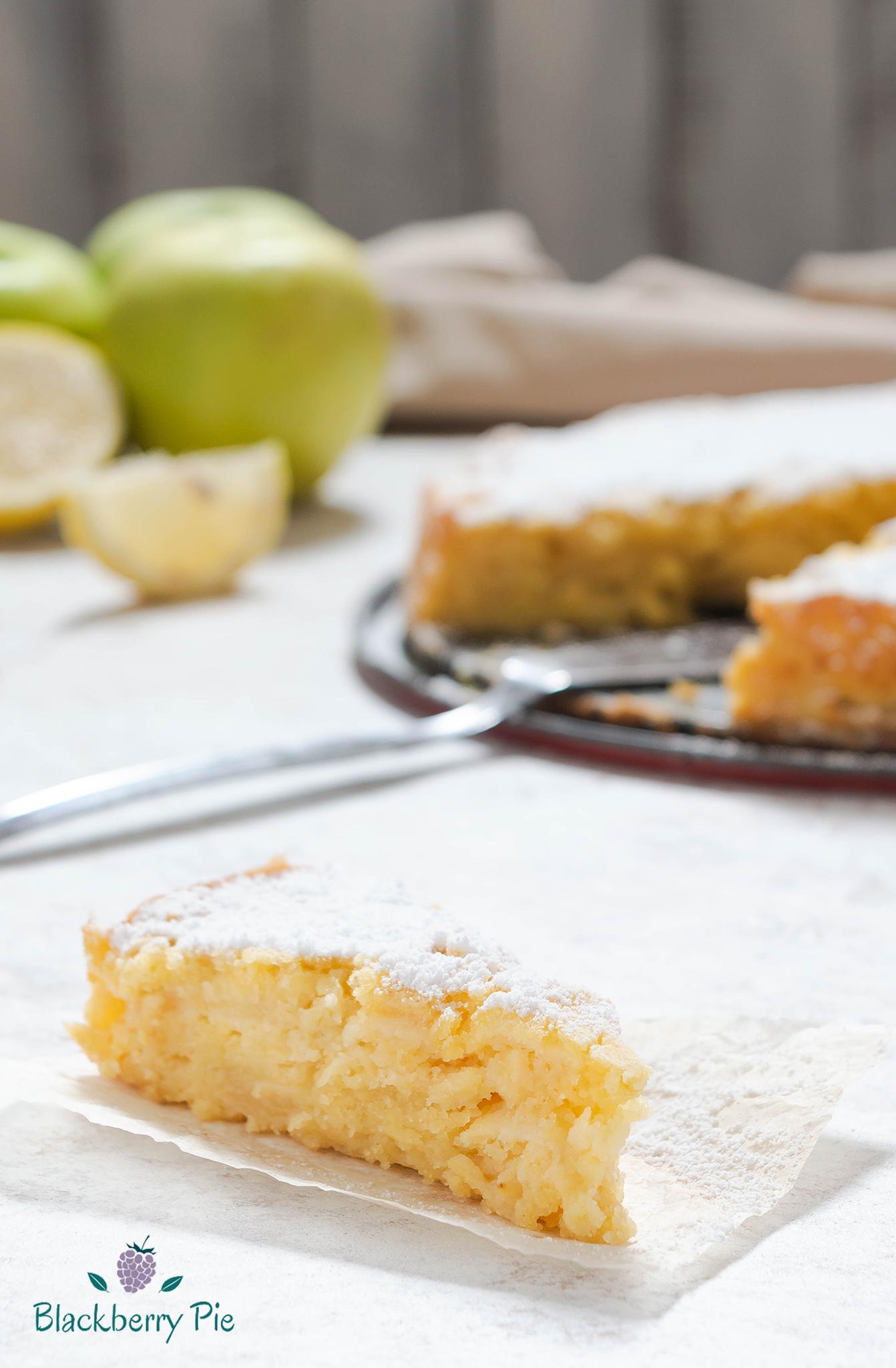 torta di mele alla veneziana