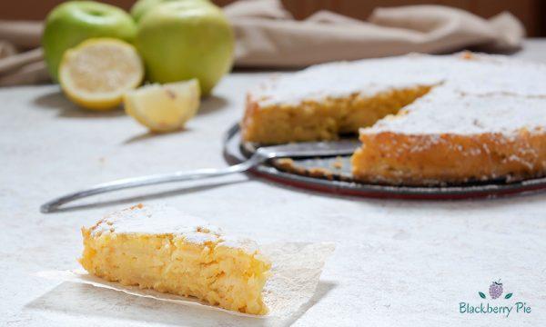 Torta di mele alla veneziana, facile e al profumo di agrumi