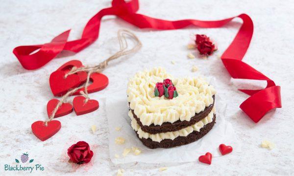 Torta a cuore – dolce di San Valentino monoporzione