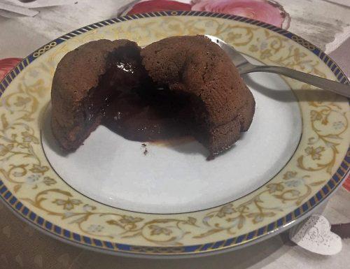 Tortino di cioccolato con cuore caldo