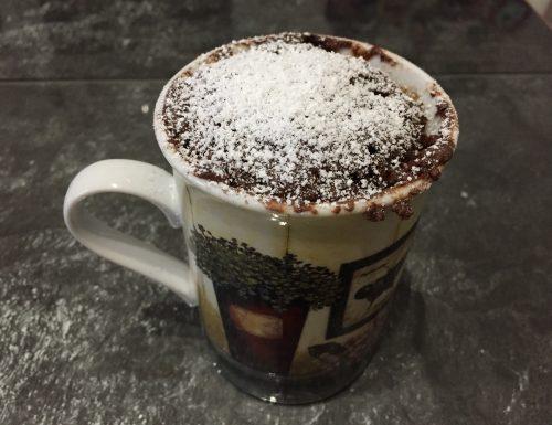 Mug cake al cioccolato veloce