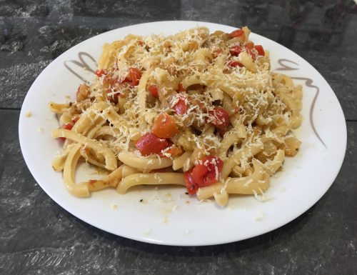 Pasta alla norma light